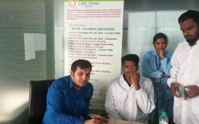 Eye Testing Camp in East India